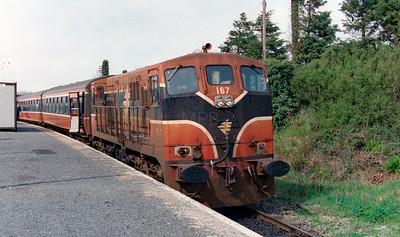 167 at Manulla Junction on 5th April 2000