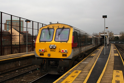 9002 at Belfast Central on 15th December 2007
