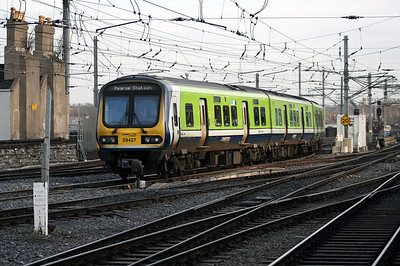 29427 at Dublin Connolly on 14th December 2007