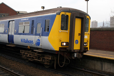 2) 8785 at Belfast Yorkgate on 15th December 2007