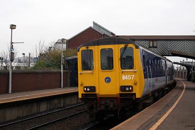 8457 at Belfast Yorkgate on 15th December 2007