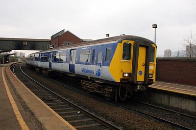 1) 8785 at Belfast Yorkgate on 15th December 2007