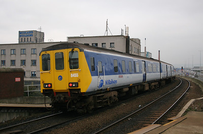 8455 at Belfast Yorkgate on 15th December 2007