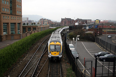 3012 at Belfast Central on 15th December 2007