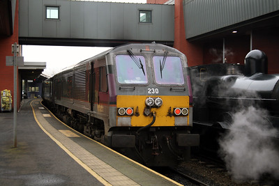 230 at Belfast Central on 15th December 2007