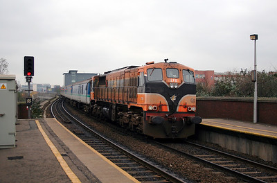 076 at Belfast Yorkgate on 15th December 2007