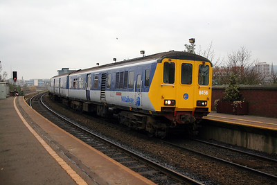 8456 at Belfast Yorkgate on 15th December 2007