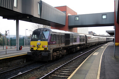 209 at Belfast Central on 14th December 2007