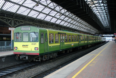 8321 at Dublin Pearse on 5th March 2006