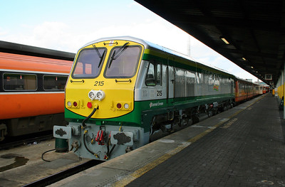 215 at Dublin Heuston on 4th March 2006