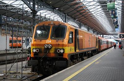 234 at Dublin Heuston on 9th September 2006.