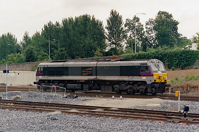 NIR, 8208 at Dublin Heuston on 5th July 2003