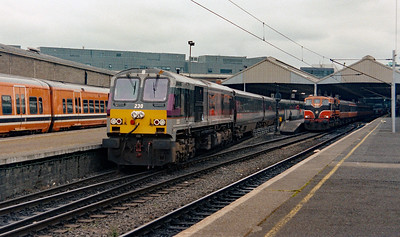 230 at Dublin Connolly on 4th July 2003