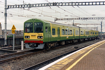 8612 at Dublin Connolly on 4th July 2003