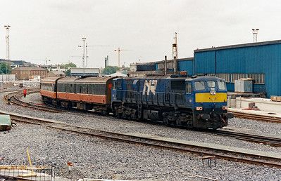 2) NIR, 112 at Dublin Heuston on 5th July 2003