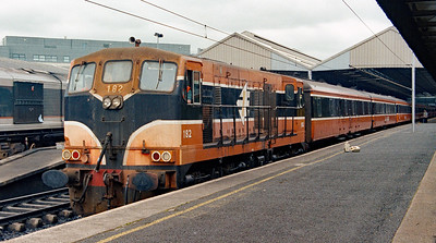 182 at Dublin Connolly on 4th July 2003