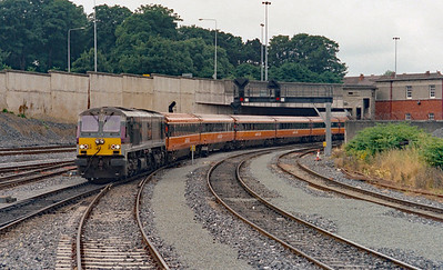 207 at Dublin Heuston on 5th July 2003