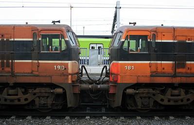 190 & 181 at Dublin Connolly on 14th November 2006