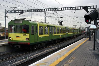 8304 at Dublin Connolly on 14th November 2006
