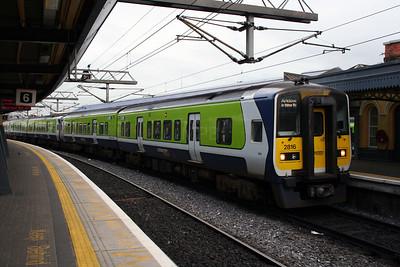 2816 at Dublin Connolly on 14th November 2006