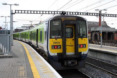 2803 at Dublin Connolly on 14th November 2006