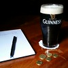 My last pint in Ireland