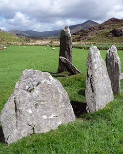 Shronebirrane Stone Circle, County Kerry, Ireland