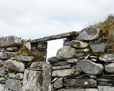 Ruins of Kilcatherine Church, County Cork, Ireland