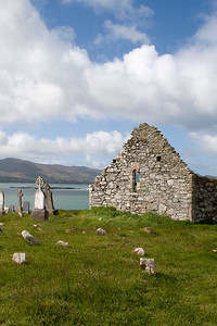 Kilcatherine Church ruins, County Cork, Ireland
