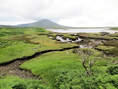 Approaching Achill Island