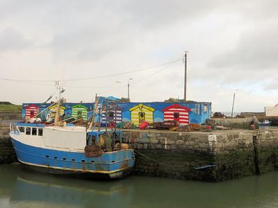 Balbriggan fishing harbour