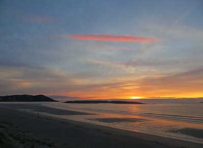 Sunset at Narin beach