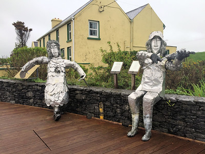 Street sculpture near Ballydehob