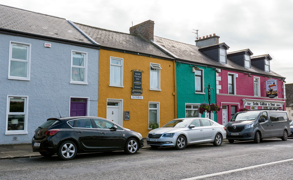 Things to do in Adare - Wander around Adare - Downtown Adare - What to see in Adare - Cottages and colorful homes