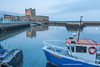 Carrickfergus Castle, Carrickfergus, Antrim, Northern Ireland.
