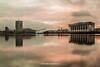 River Lagan, Belfast, Northern Ireland.