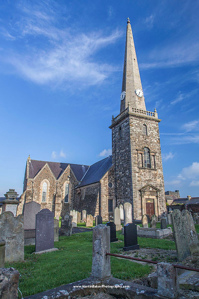 St. Nicholas' Church, Carrickfergus, Antrim, Northern ireland.