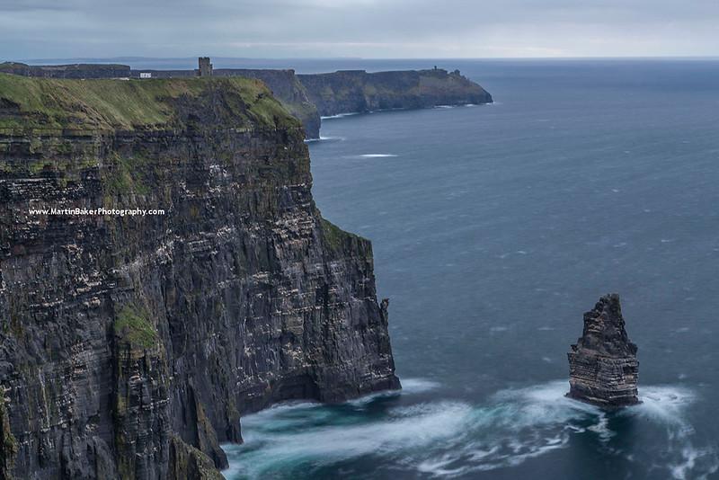 Hag's Head, Cliffs of Moher, Clare, Ireland.