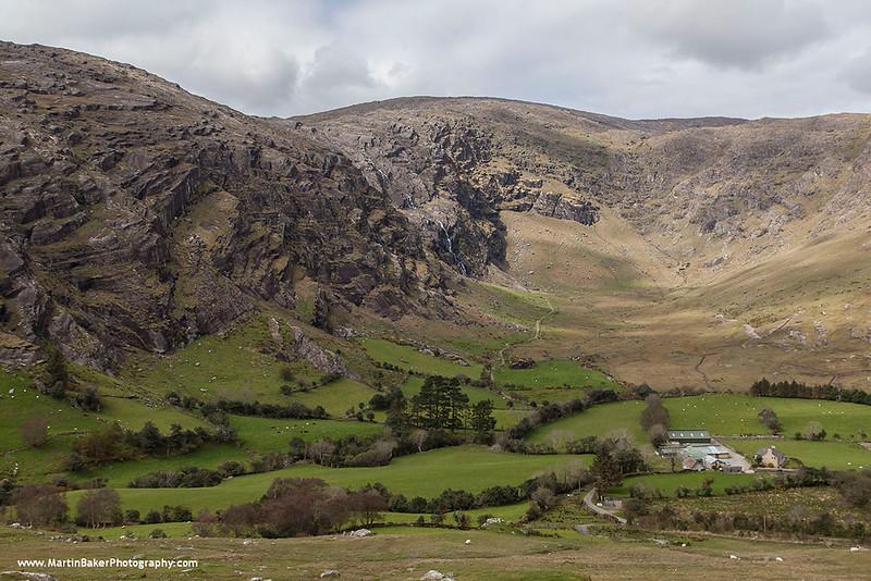 The Caha Mountains, Beara Peninsula, Adrigole, Cork, Ireland.