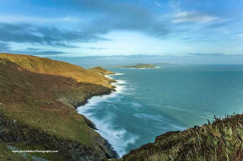 Clear Island and Sherkin Island, Cork, Ireland.