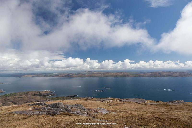 Bere Island  (view from Hungry Hill), Beara Peninsula, Cork, Ireland.