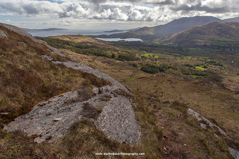 The Caha Mountains, Beara Peninsula, Adrigole, Cork, Ireland.