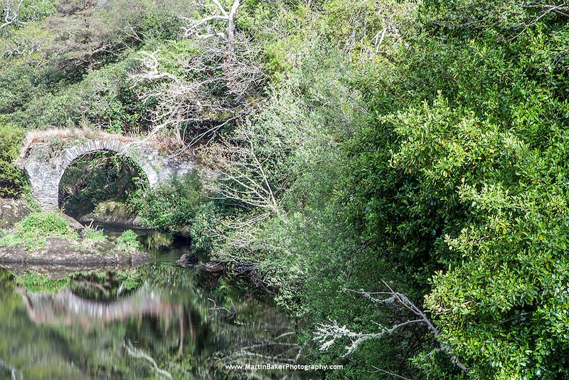 River Glengarriff, Glengarriff, Beara Peninsula, Cork, Ireland.