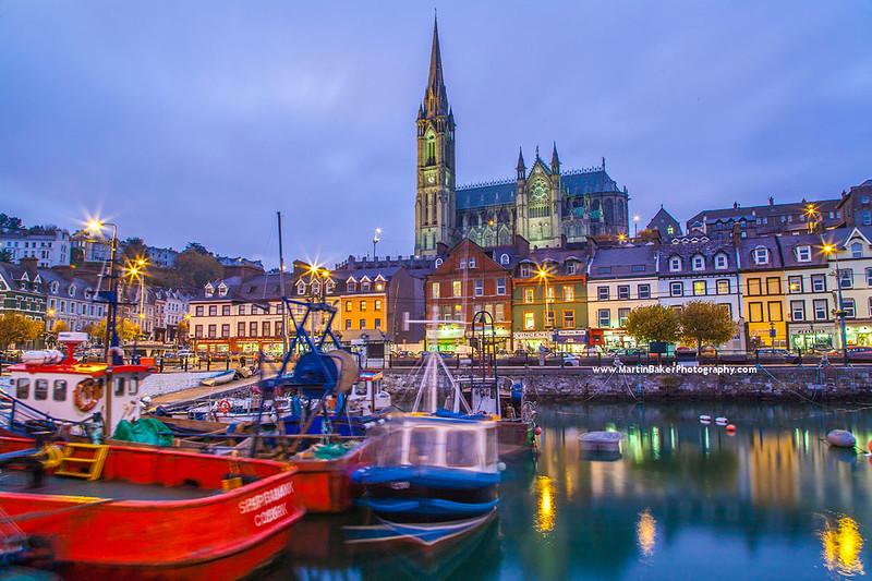 Cobh Harbour, Cobh, Cork, Ireland.