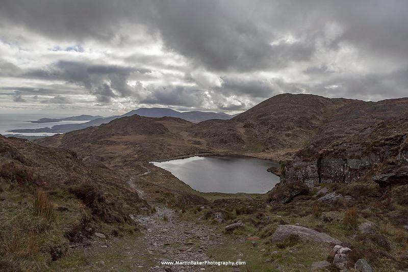 The Caha Mountains, Beara Peninsula, Glengarriff, Cork, Ireland.