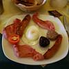 That's a full Irish breakfast (full of cholestrol)