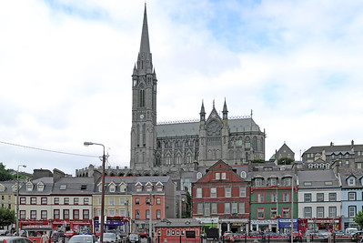 St Colman's Cathedral, Cóbh, County Cork, Eire - August 27, 2013