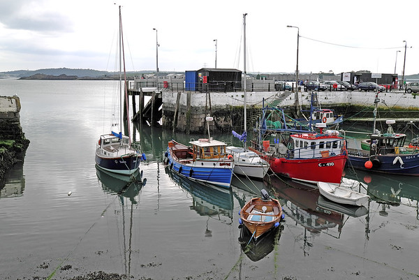 Kennedy Pier, Cóbh, County Cork, Eire - May 28, 2003