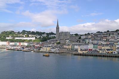 Cóbh, County Cork, Eire - August 27, 2013