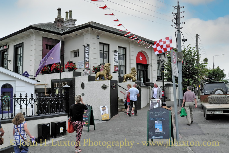 White Star Line Offices, Cóbh, County Cork, Eire - August 27, 2013